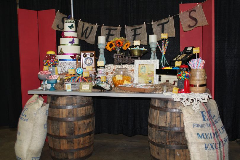 Vintage Candy Buffet like no other. Impress your guests with a very unique candy buffet that can...