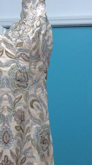 Fancy patterned dress