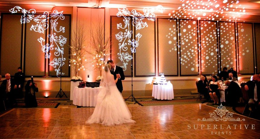 First dance lighting