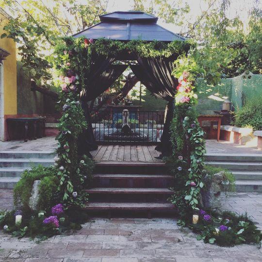 The garden gazebo