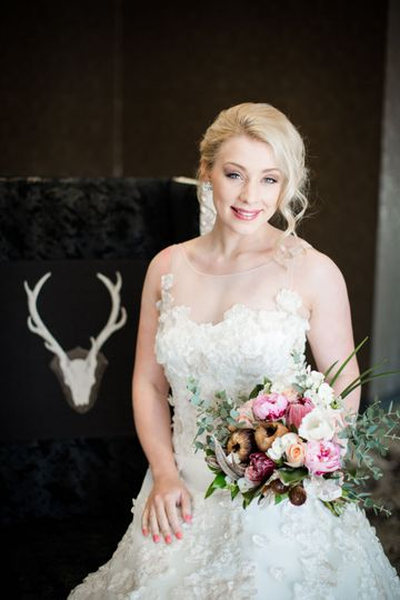 The lovely bride | Photo by: Freeland Photography