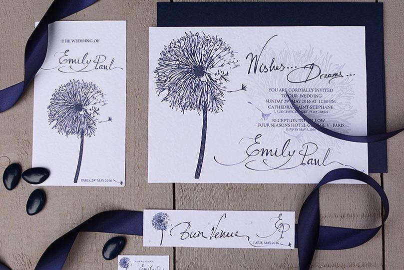 chirography modern wedding 021603