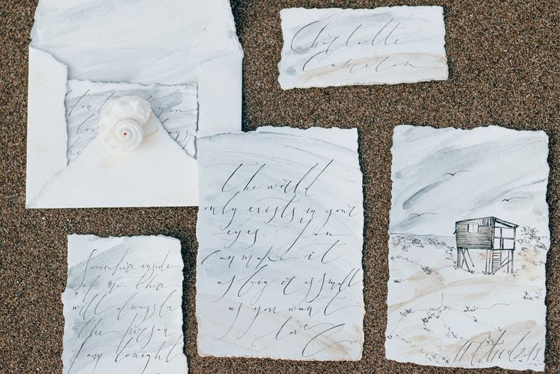 wedding calligrpahy love letters sketches wedding details 51 753038 1571409243