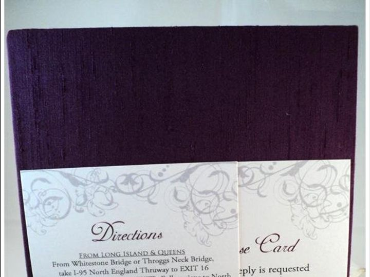 Tmx 1344985926482 PurplePanel4 Bronx wedding invitation