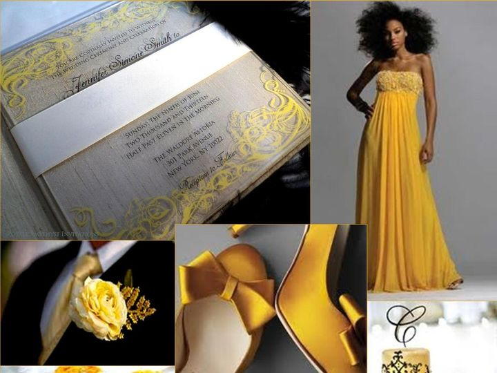 Tmx 1344986113590 YellowInspiration Bronx wedding invitation