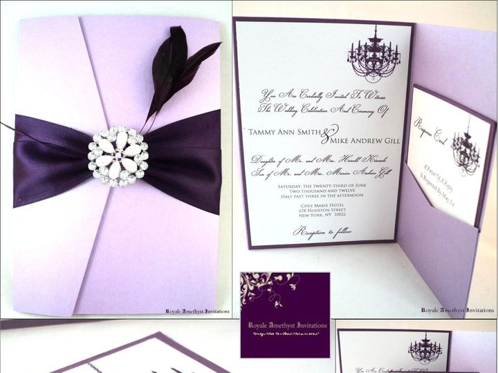 Tmx 1344989351290 VisionBoardLapisWedding Bronx wedding invitation