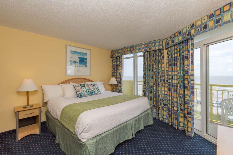 Oceanfront room rentals