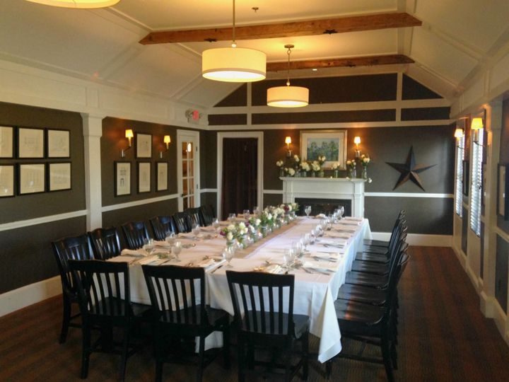 Dining area of The Scarlet Oak Tavern