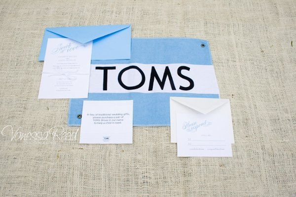 TOMS Inspiration Shoot : Invitation