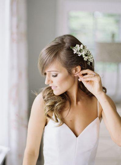 Bridal beauty.