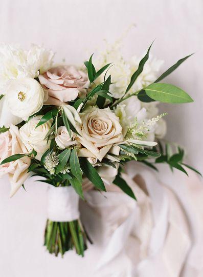 Romantic, soft bouquet.