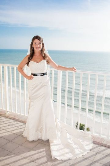 Bride by the rails