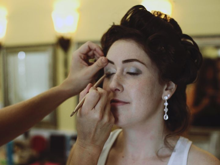 Tmx 1508671608447 Bride Gets Make Up Done High Point, NC wedding videography