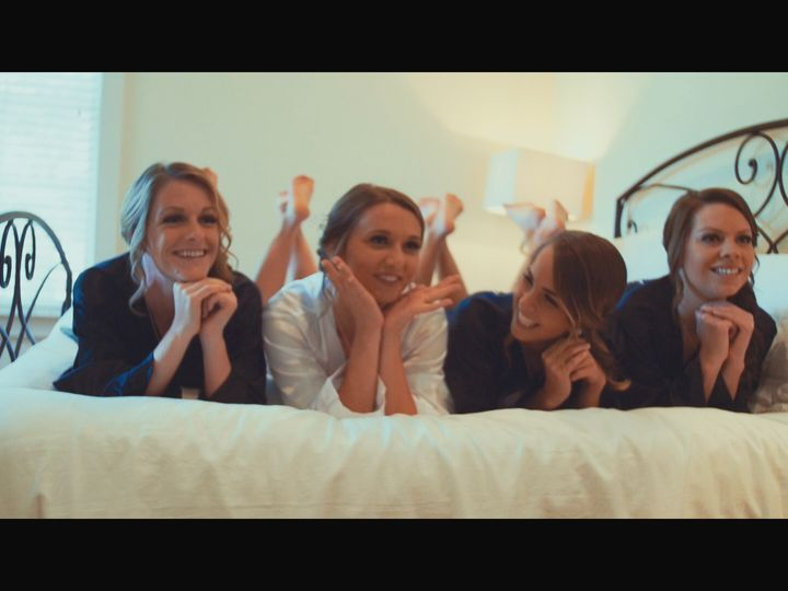 Tmx 1509191088148 Girls On The Bed High Point, NC wedding videography