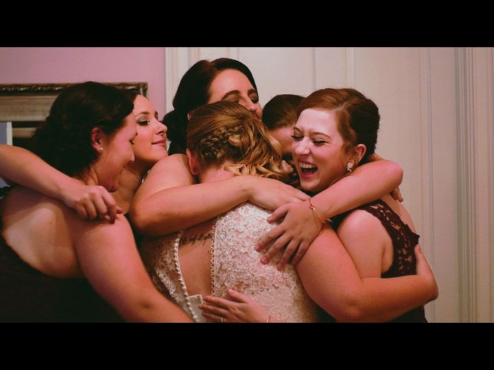 Tmx 1509192080809 Bridesmaids Group Hug High Point, NC wedding videography