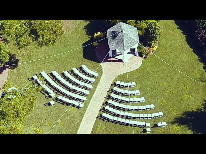 Tmx 1509192133383 Ceremony Area Birds Eye Viewjessica  John High Point, NC wedding videography