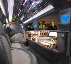 ECB Lincoln Town Car interior