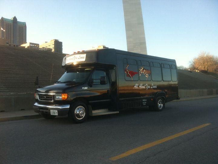 Tmx 1485298356144 20 Black Diamond Exterior Arch Saint Louis, MO wedding transportation
