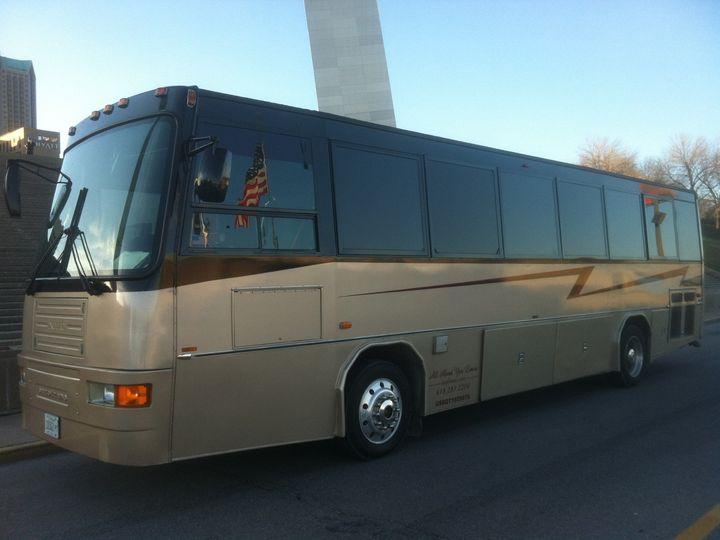 Tmx 1485299151833 Limo Liner Exterior Arch Saint Louis, MO wedding transportation