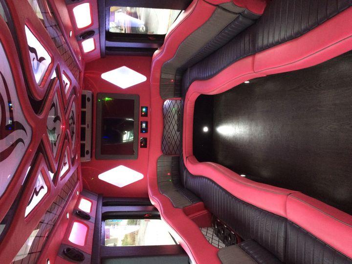 Tmx 1485301229035 23 Pink Bus Interior Saint Louis, MO wedding transportation