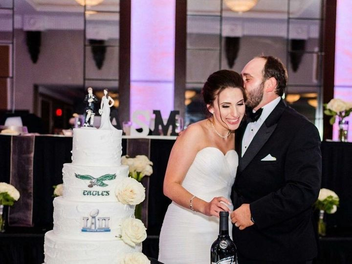 Tmx Michelle And Ardian Cake 51 677038 1562859415 King Of Prussia, PA wedding venue