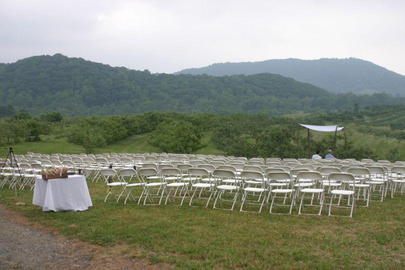 orchard wedding 1
