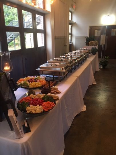Catering Setup...
