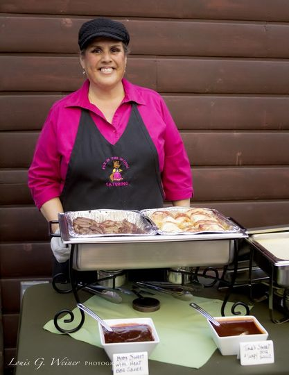 Tina Fox - Chef & Owner of Fox in the woods catering