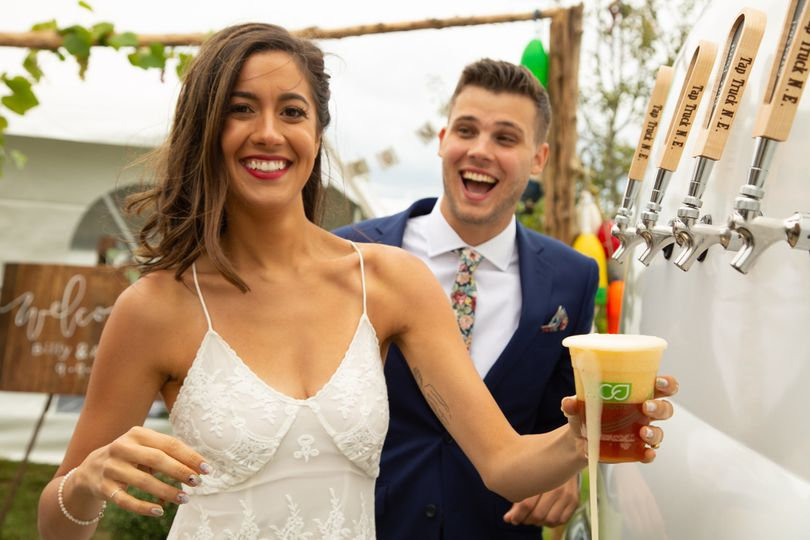 Mobile bar for your wedding!