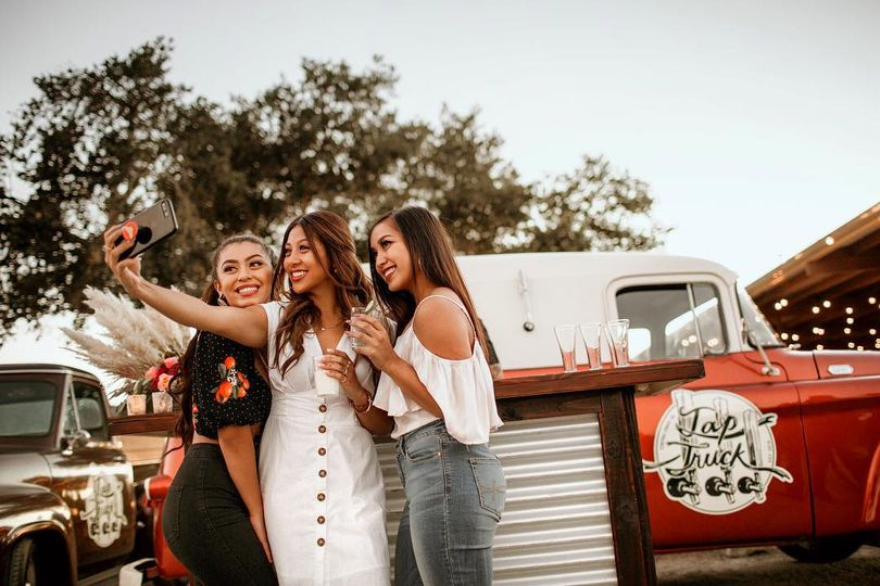 Selfie with our mobile bar!