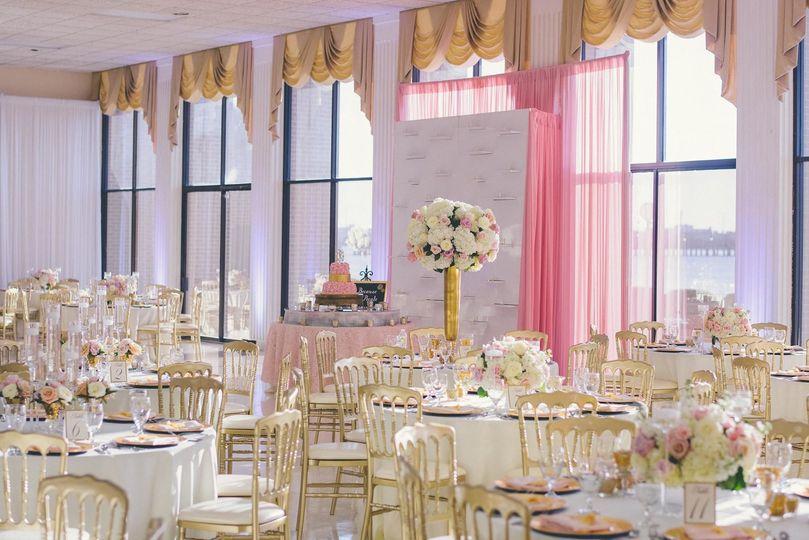 Reception decoration