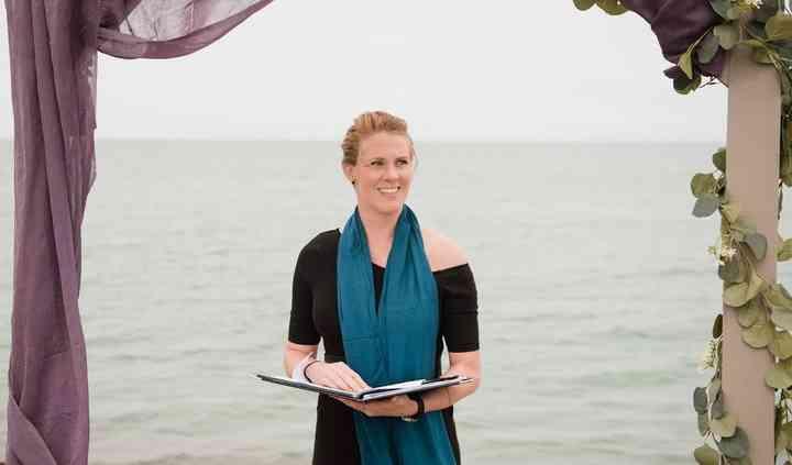 Ashley Meitzler, Wedding Officiant