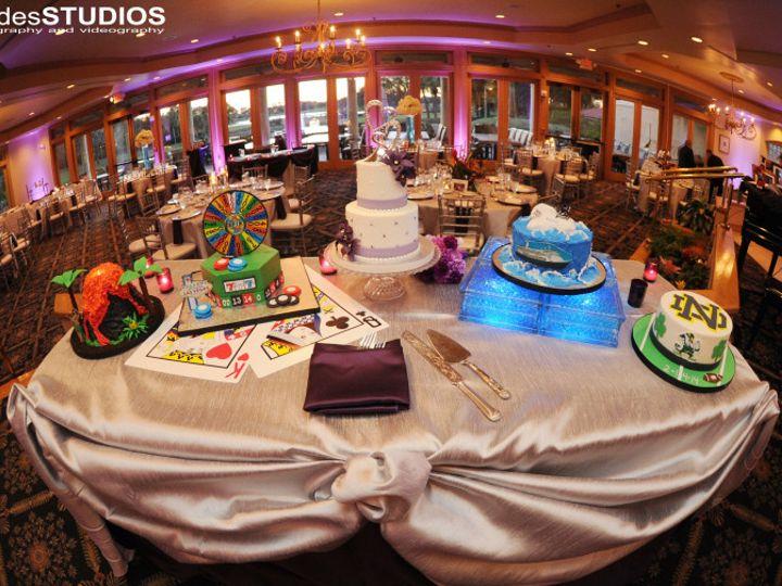 Tmx 1414186060388 Rhodes Studios. Elaine And Jeff 1 Ocoee, Florida wedding cake