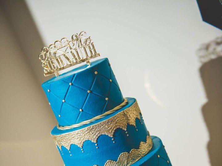 Tmx 1481825012544 Blue Cake  Ocoee, Florida wedding cake