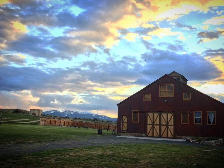 sunset at barn 51 783138