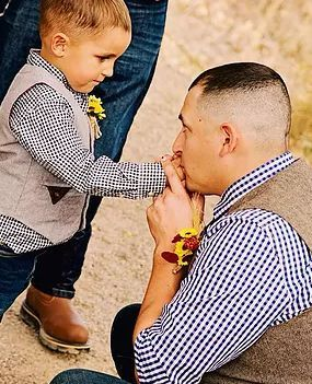Groom & ring bearer