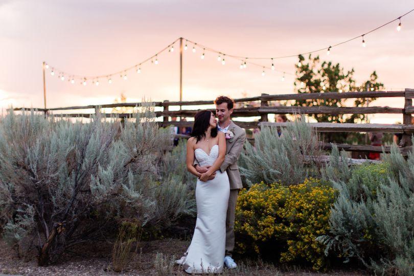 Brasada Wedding at Sunset