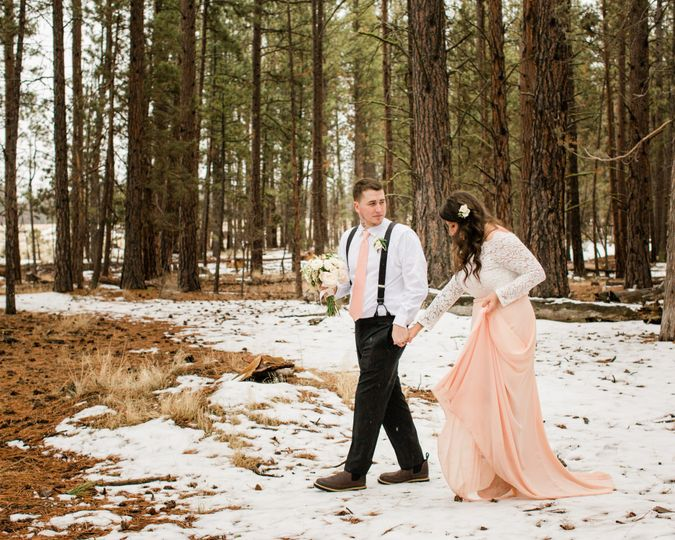 Five Pine Elopement Wedding