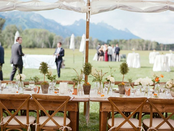 Tmx 1475083898115 Teton Wedding 2 Teton Village wedding catering