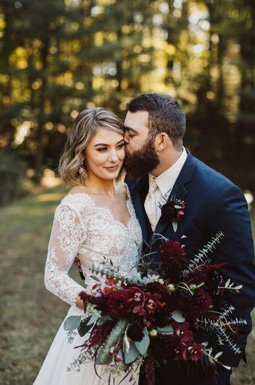 Fall Brown County Wedding.