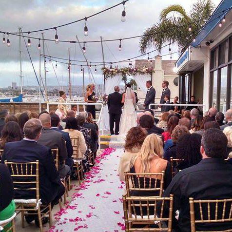 East Patio Wedding