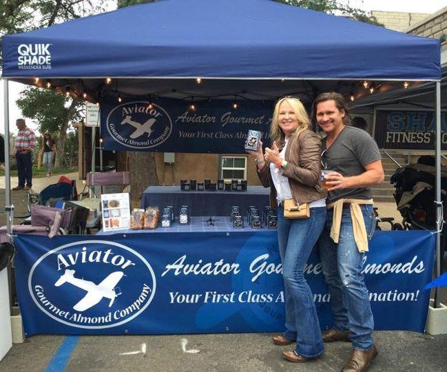 Aviator Gourmet Almonds are a unique San Diego favorite!