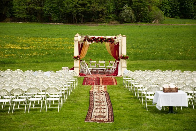 Ceremony in the meadow