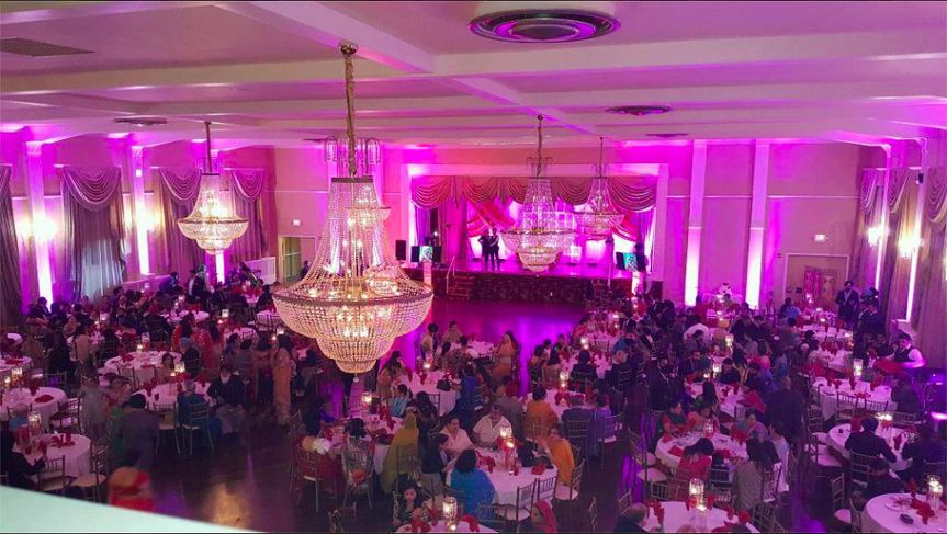 Wedding reception at the Empress Room