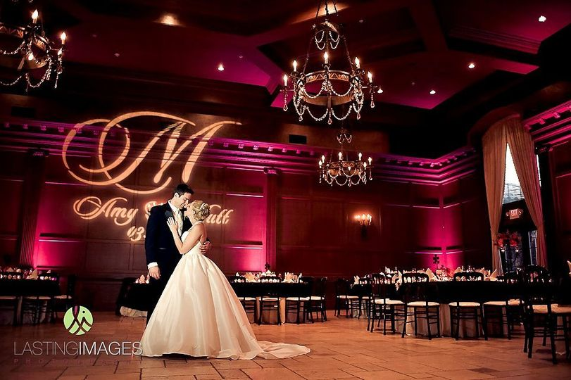 Uplighting & Monogram Gobo