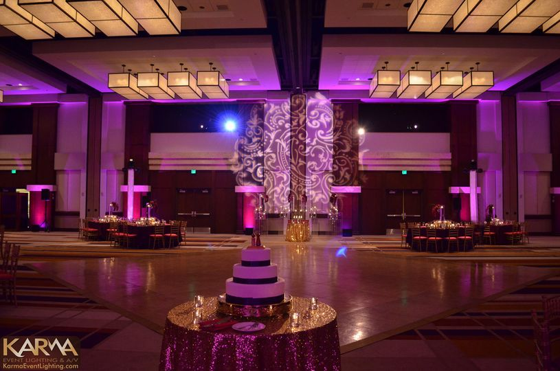 hyatt gainey ranch indian wedding lighting scottsd