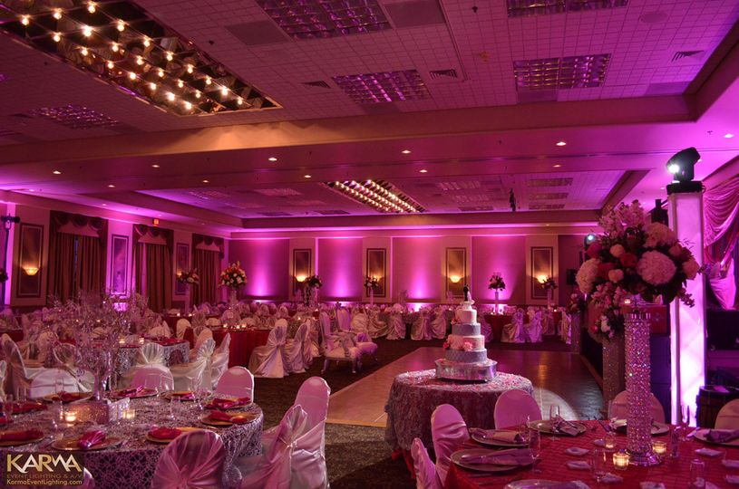 orangetree scottsdale pink wedding lighting karma