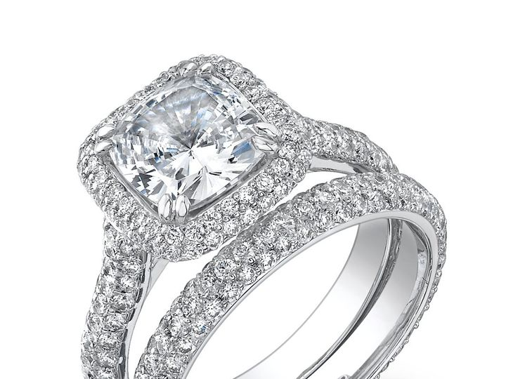 Tmx 1339686952906 EngagementRing4 Cedar Grove wedding jewelry