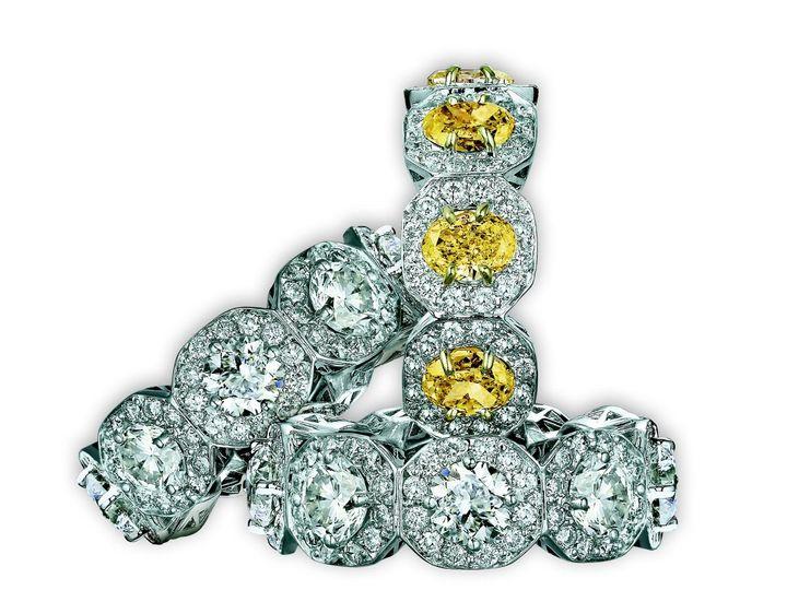 Tmx 1339687002805 YaninaSydneyDiamondBand Cedar Grove wedding jewelry