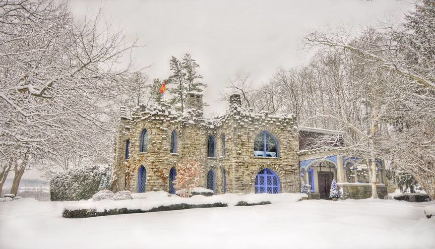 Cold winter at the castle